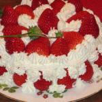 我が家のケーキ